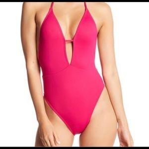 Bikini lab pink swimsuit.